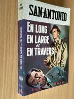 FLEUVE NOIR SAN-ANTONIO N° 163  EN LONG EN LARGE ET EN TRAVERS   1968 - Fleuve Noir
