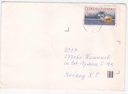 1987  , Tchecoslovaquie To Moldova ,  Used Letter - Czechoslovakia