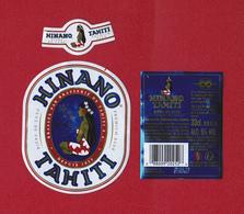Polynésie Française / Tahiti - Etiquette De Bière Hinano / Blonde 33 Cl - Mai 2018 - TTB - Bière