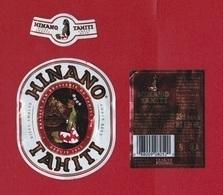 Polynésie Française / Tahiti - Etiquette De Bière Hinano / Ambrée 33 Cl - Mai 2018 - TTB - Bière