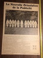 ANNEES 20/30 PUBLICITE LACET YOREL - Vieux Papiers
