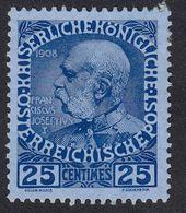 AUSTRIA  OSTERREICH - 1913 - Yvert 109, Nuovo Con Gomma Danneggiata. - Unused Stamps