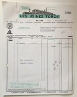 Deinze Factuur Les Usines Torck 1969 + Nota Anglo-Belge - 1950 - ...