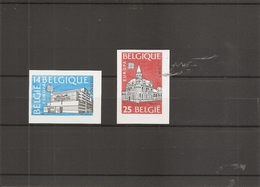 Belgique -- Europa 1990 ( 2367/2368 Non Dentelés) - Belgium