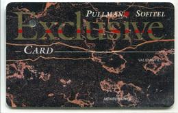 """Specimen De Carte D'Hôtel à Rungis (annulée Par Perforation) """"Pullman - Sofitel - Exclusive Card"""" - Oberthur - Hotel Keycards"""
