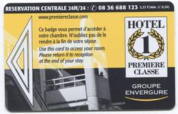 "Carte D'hôtel ""Première Classe"" Hotel Card - Hotel Keycards"