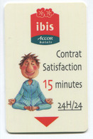 Carte D'hôtel Ibis - Hotel Card - Hotel Keycards