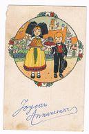 """Carte Avec Dessin De Hansi """" Joyeux Anniversaire """" 1958 - Hansi"""