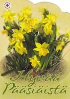 Easter Flowers - Fleurs - Bloemen - Blumen - Fiori - Flores - Red Cross - Finnish Itella Post Oyj - Postage Payed - Croix-Rouge