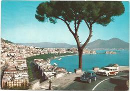 V3703 Napoli - Panorama Da Via Orazio - Auto Cars Voitures / Viaggiata 1966 - Napoli