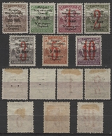 1921 West Hungary Austria Westungarn / Lajtabánság - Harvester Overprint ORGLAND - Local Occupation MH - Hongrie