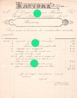 PASCAL MAWET Maréchal Ferrant à CEREXHE HEUSEUX 1912 Pour L'entrepreneur P. Dozot - Belgique