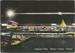 V3707 Castrocaro Terme (Forlì Cesena) - Dancing E Piscina - Notturno Notte Nuit Night Nacht Noche / Viaggiata 1966 - Italie