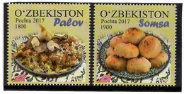 Uzbekistan.2018 Uzbek Cuisine. 2v: 1800, 1900 - Ouzbékistan