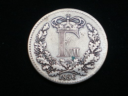 DANEMARK 1 SKILLING RIGSMONT 1856 Denmark - Danemark