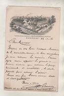 EPERNAY - Vue Des Etablissements Ad CARTERON - Carte Rare - Epernay