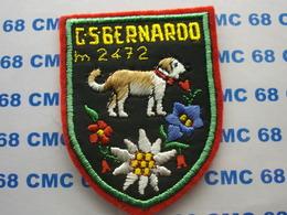 ECUSSON  BRODE     BLASON..G.S. BERNARDO 2472M - Ecussons Tissu