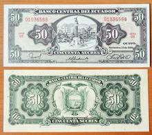 Ecuador 50 Sucres 1988 UNC - Equateur