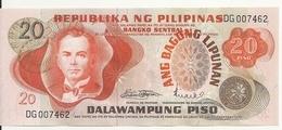 PHILIPPINES 20 PISO ND1970 UNC P 155 - Philippines