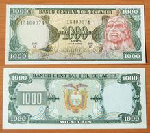 Ecuador 1000 Sucres 1988 UNC - Equateur