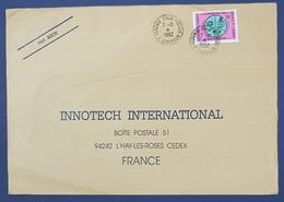 1992 Covers, Yaounde - Innotech L'Hay Les Roses France, Cameroun, Par Avion - Cameroun (1960-...)