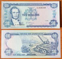Jamaica 10 Dollars 1992 UNC - Jamaica
