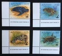 Aitutaki 1995; Fauna Reptiles Turtles MNH** Catalogue 18 Euro!! - Aitutaki