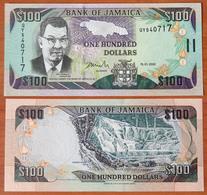 Jamaica 100 Dollars 2002 UNC - Jamaica