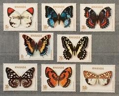 Rwanda 1979; Insects, Butterflies; MNH** High Value!! - Rwanda