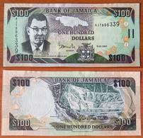 Jamaica 100 Dollars 2007 UNC - Jamaica