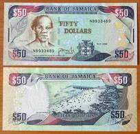 Jamaica 50 Dollars 2008 AUNC - Giamaica
