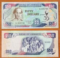 Jamaica 50 Dollars 2012 UNC Commemorative Note - Jamaica