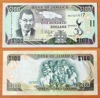 Jamaica 100 Dollars 2012 UNC Commemorative Note - Jamaica