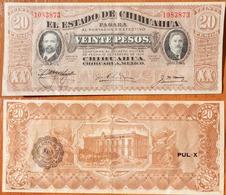Mexico 20 Pesos 1915 Serie K - Mexico