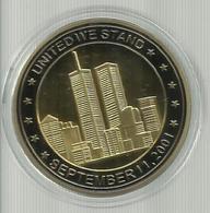 9/11 Coin Gold World Trade Centre Man Commemorative Memorabilia U New York City - Professionali/Di Società