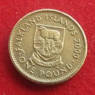 Falkland  Islands 1 Pound 2000  Malvinas Malwinen - Falkland Islands