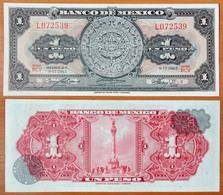 Mexico 1 Peso 1965 UNC - Mexico