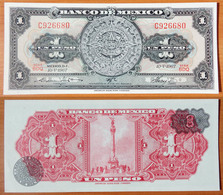 Mexico 1 Peso 1967 UNC - Messico