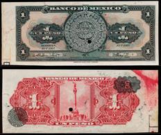 Mexico 1 Peso 1967 Proof Print - Mexico