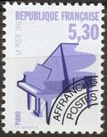 France Precancel Theme Piano 1992 MNH - Musik