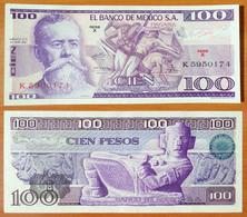 Mexico 100 Peso 1974 UNC - México