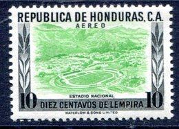 Honduras 1956  MNH**VF National Soccer Stadium  Scarce Football - Honduras