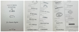 O) 1983 CUBA-CARIBBEAN, SPANISH ANTILLES, BOOK -HISTORIA POSTAL, CORREO MARITIMO-POSTAL HISTORY -MARITIME MAIL, 174 PAGE - Books, Magazines, Comics