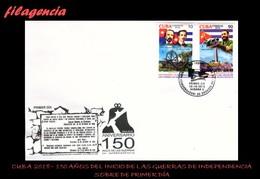 TRASTERO. CUBA SPD-FDC. 2018-20 150 AÑOS DEL COMIENZO DE LAS GUERRAS DE INDEPENDENCIA EN CUBA. FIDEL CASTRO - FDC