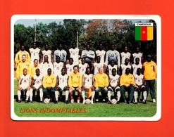 Cameroun- Football Team ' Lions Indomptables. Standard, New, Divided Back, Ed. Tifcartes N° 0385 - Camerun