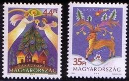 Hungary 2003 Mi 4816 - 4817 Christmas. Weihnachten  Christmas. Weihnachten Symbols - Reindeer Angels MHN** W816 - Hongrie