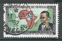 Sénégal YT N°213 Union Internationale Des Télécommunications Oblitéré ° - Sénégal (1960-...)
