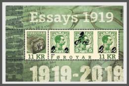 H01 Faroe Islands 2019 Provisional 1919 MNH - Isole Faroer