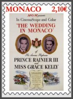 H01 Monaco 2019 Grace Kelly Wedding In Monaco MNH - Monaco