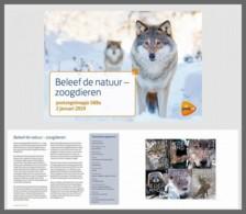 H01 Netherlands 2019 Experience Nature Mammals Presentation Pack - Periodo 2013-... (Willem-Alexander)